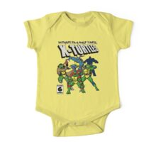 X-Turtles, Mutants in a half shell (Colab with RPAdame) One Piece - Short Sleeve