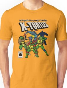 X-Turtles, Mutants in a half shell (Colab with RPAdame) Unisex T-Shirt