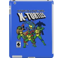 X-Turtles, Mutants in a half shell (Colab with RPAdame) iPad Case/Skin