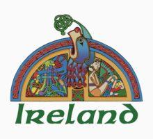 Ireland - Arch Illumination I Kids Tee