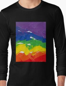 "Energetic Abstractions - ""Colour Splash"" Long Sleeve T-Shirt"