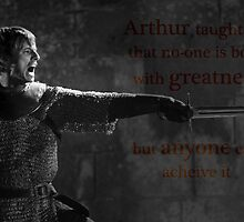 Arthur taught me... by UtherPendragon