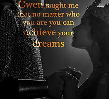 Gwen taught me... by UtherPendragon