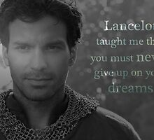 Lancelot taught me... by UtherPendragon