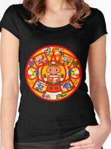 Tonatiuh 1 Women's Fitted Scoop T-Shirt