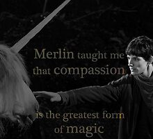 Merlin taught me... by UtherPendragon