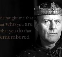 Uther taught me... by UtherPendragon
