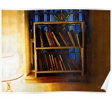 The Pastor's Bookshelf Poster