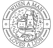 When a Man Loves a Lion by soniaardelia