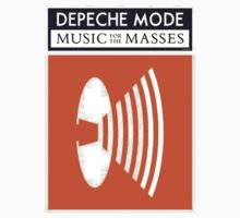 Depeche Mode Music For The Masses 1987 Classic Design by Shaina Karasik