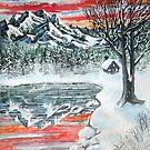 warm winter reflections by LoreLeft27