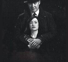 The Blacklist - Red&Liz by Duha Abdel.