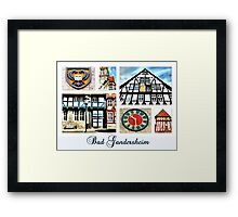 Bad Gandersheim Framed Print
