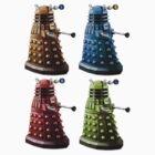 Daleks by cirdec
