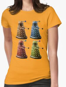 Daleks Womens Fitted T-Shirt