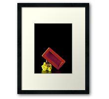 I Hate Fruit - Grapes Framed Print