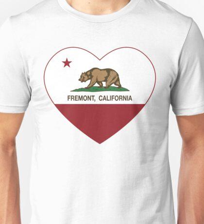 Fremont California Love Heart  Unisex T-Shirt
