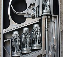 H. R. Giger Museum - Entrance Statue. Gruyeres, Switzerland by Igor Pozdnyakov