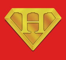 Super Gold H Logo by TheGraphicGuru