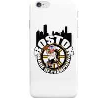 Boston Made OF Champions iPhone Case/Skin