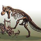Tyrantrum Fossil by RJ Palmer