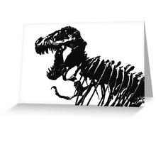 T-Rex Skeleton Greeting Card
