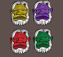 colorful bigfoot Unisex T-Shirt