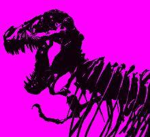 T-Rex Skeleton by Nathan Jekich