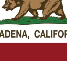 Pasadena California Love Heart  Sticker