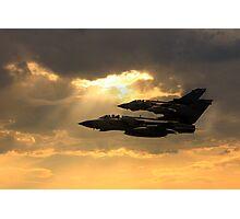 Tornado Role Demo Photographic Print