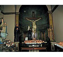 INTERIOR OF CHURCH IN RECIFE, BRAZIL Photographic Print