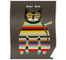 the cool cat  Poster
