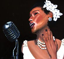 Billie Holiday by Andrew Bonnitcha