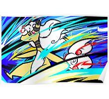 Mega Ampharos | Thunder Poster