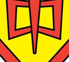The Greatest Kryptonian-American Hero Sticker