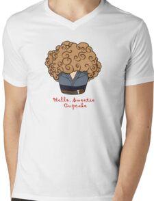 HELLO, SWEETIE CUPCAKE Parody Mens V-Neck T-Shirt