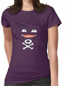 Smells like koffing Womens Fitted T-Shirt