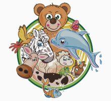Animals Mix Nr. 3 Kids Clothes