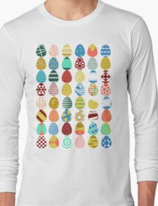 Say happy easter Long Sleeve T-Shirt