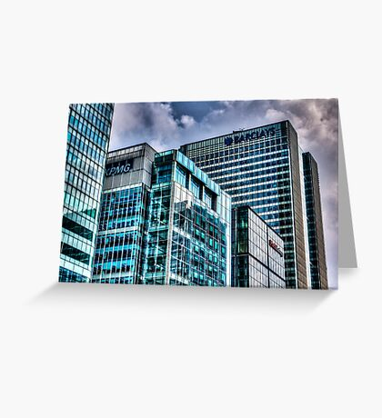 Corporate London Greeting Card
