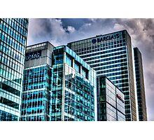Corporate London Photographic Print