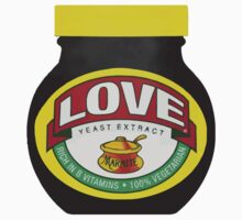 Marmite Love One Piece - Long Sleeve
