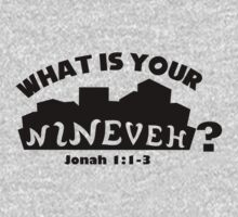 What is your Nineveh? One Piece - Long Sleeve