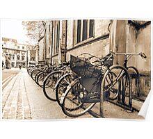 Vintage Bikes Poster
