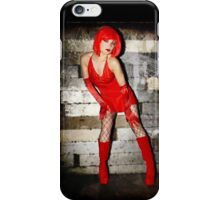 Stand Red Glamour iPhone Case/Skin