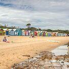Brighton Beach, Melbourne, Victoria by Adrian Paul