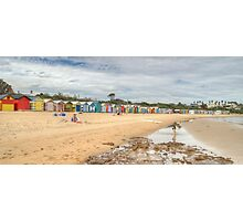 Brighton Beach, Melbourne, Victoria Photographic Print