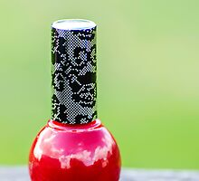Red Nail Polish by MMPhotographyUK