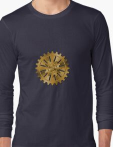 Golden Gears - Steampunk Long Sleeve T-Shirt