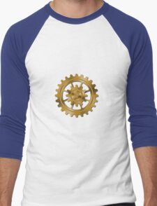Golden Gears - Steampunk Men's Baseball ¾ T-Shirt